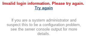 Jenkins LDAP Failed Login