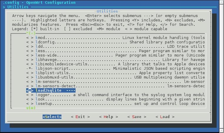 menuconfig_load2sqlite